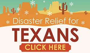 Disaster Relief for Texans - CLICK HERE