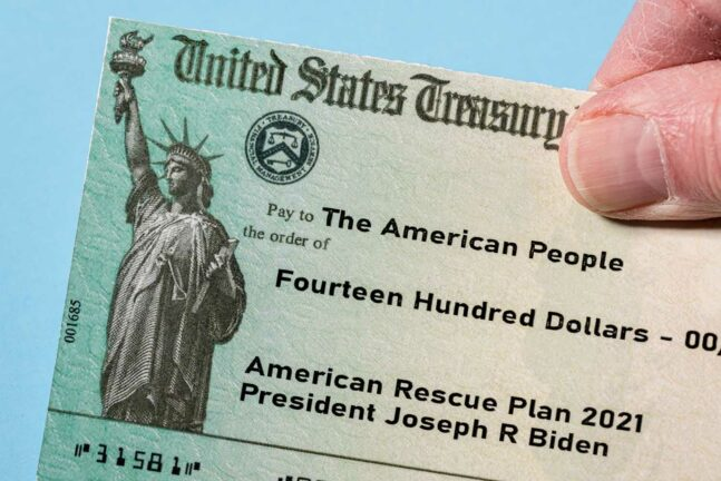 Third Stimulus Check from American Rescue Plan 2021