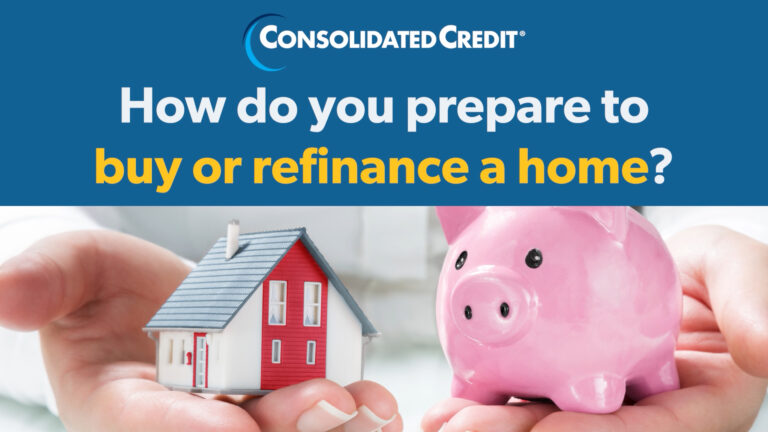 You need to save before you can buy or refinance a home.