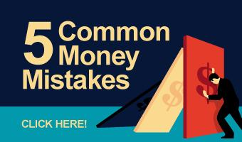 5 common money mistakes