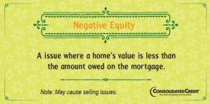 Negative equity financial literacy tip