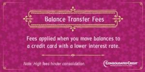 Balance transfer fee financial literacy tip