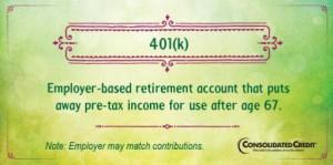 401(k) financial literacy tip